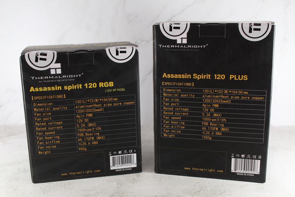 索摩樂Thermalright Assassin Spirit 120 PLUS/RGB塔型散熱器-無光害...5265