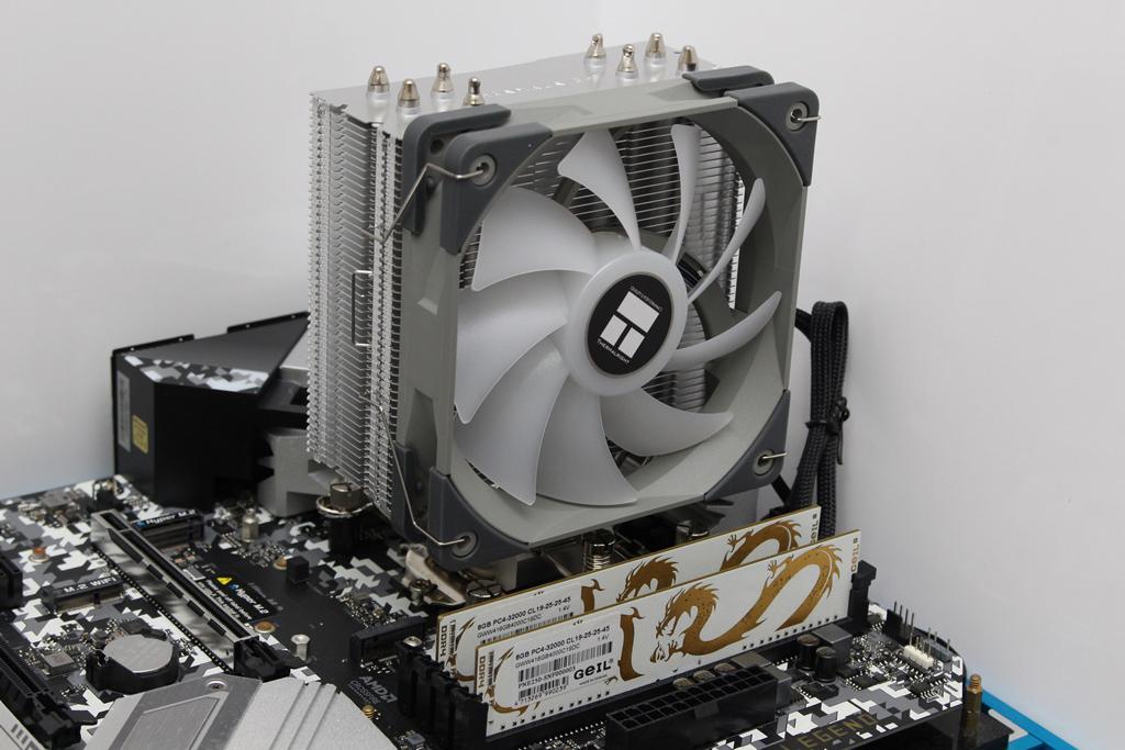 索摩樂Thermalright Assassin Spirit 120 PLUS/RGB塔型散熱器-無光害...1088
