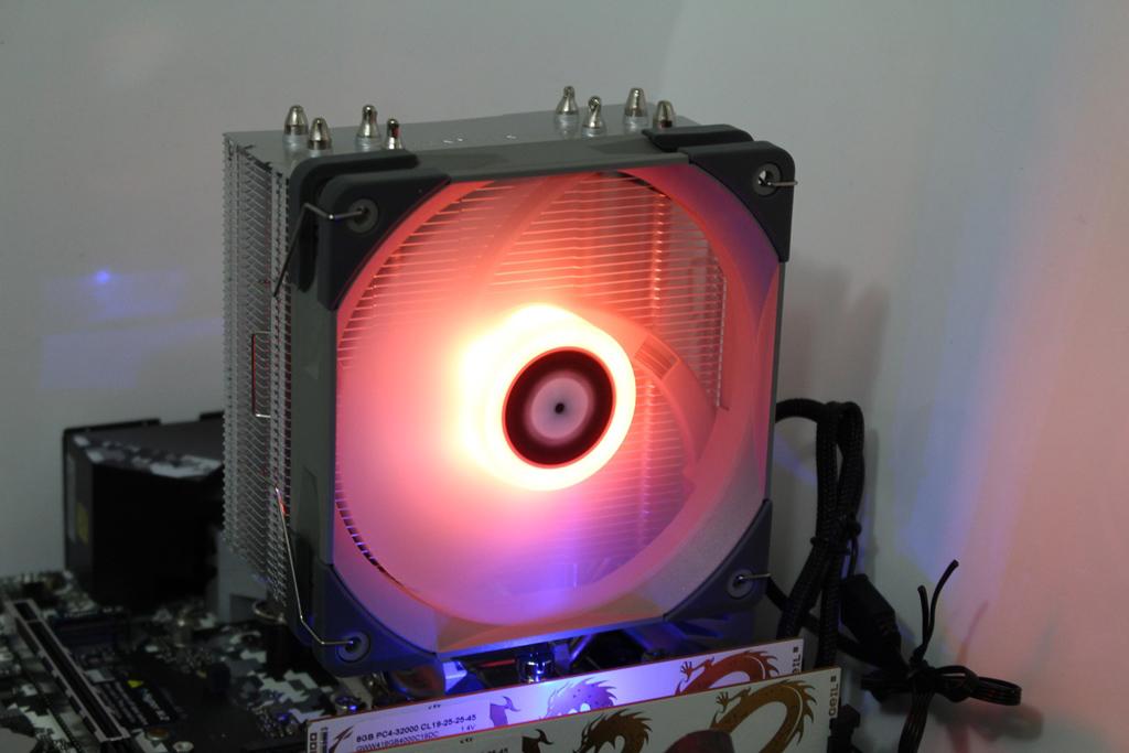 索摩樂Thermalright Assassin Spirit 120 PLUS/RGB塔型散熱器-無光害...9453