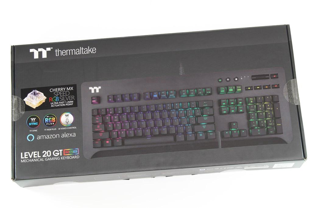 曜越Thermaltake Level 20 GT RGB機械式電競鍵盤-簡約奢華風格,質感與視覺燈效依然搶眼 - 4