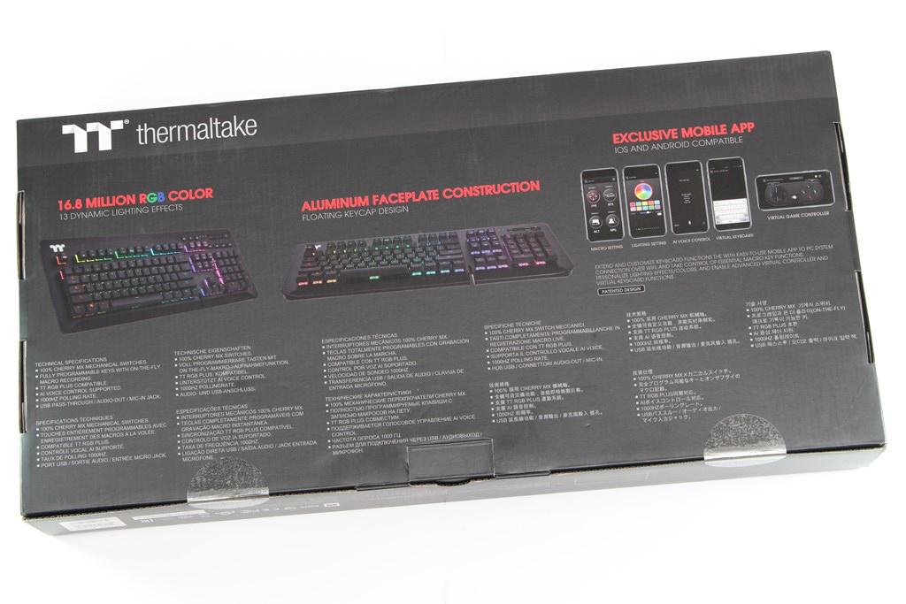 曜越Thermaltake Level 20 GT RGB機械式電競鍵盤-簡約奢華風格,質感與視覺燈效依然搶眼 - 7
