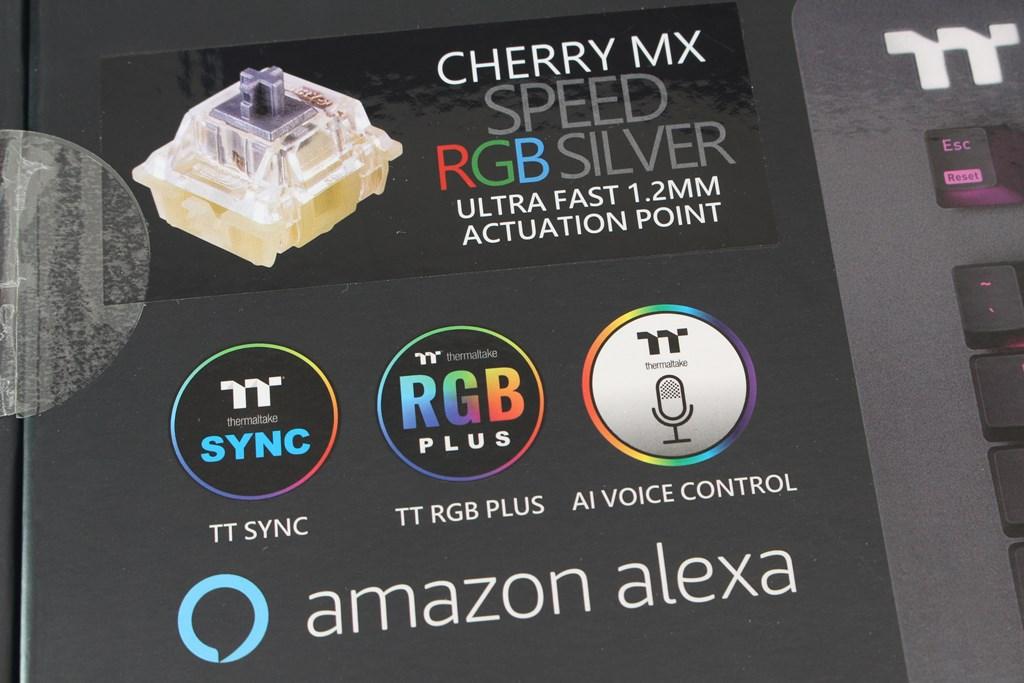 曜越Thermaltake Level 20 GT RGB機械式電競鍵盤-簡約奢華風格,質感與視覺燈效依然搶眼 - 6