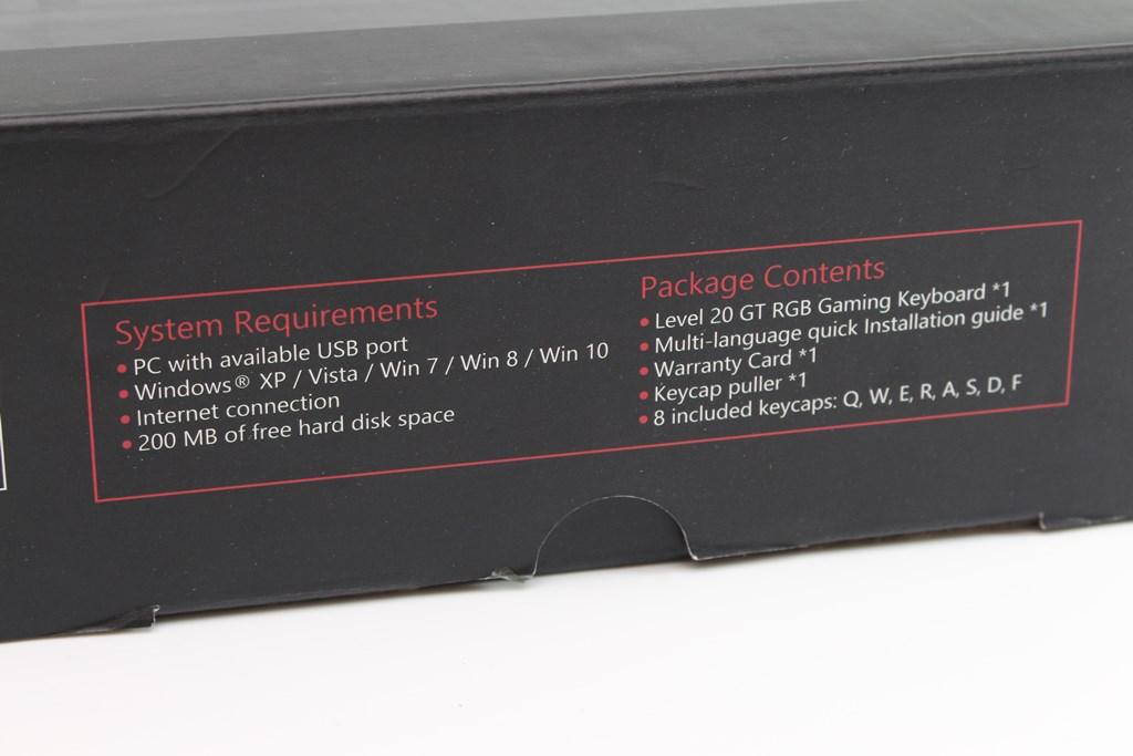 曜越Thermaltake Level 20 GT RGB機械式電競鍵盤-簡約奢華風格,質感與視覺燈效依然搶眼 - 12