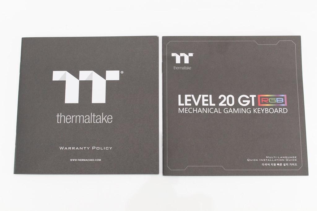 曜越Thermaltake Level 20 GT RGB機械式電競鍵盤-簡約奢華風格,質感與視覺燈效依然搶眼 - 14