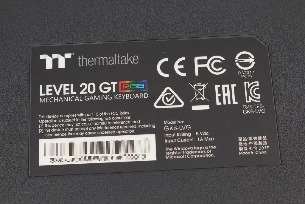 曜越Thermaltake Level 20 GT RGB機械式電競鍵盤-簡約奢華風格,質感與視覺燈效依然搶眼 - 38