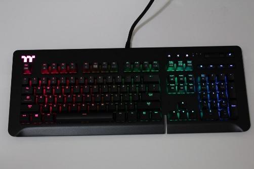 曜越Thermaltake Level 20 GT RGB機械式電競鍵盤-簡約奢華風格,質感與視覺燈效依然搶眼 - 1