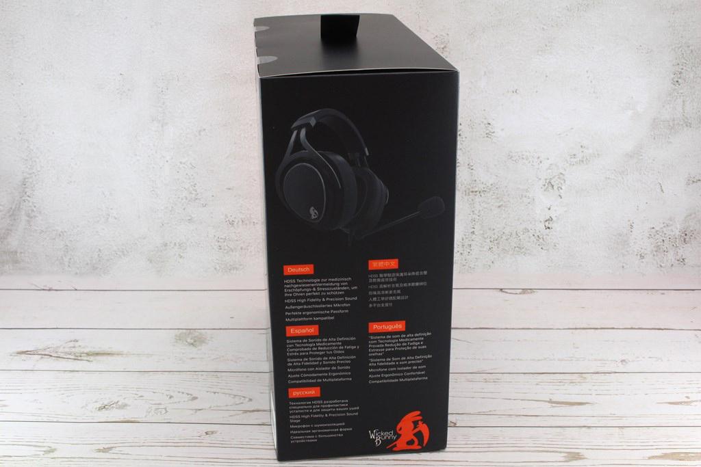 威克邦尼Wicked Bunny Proximity HDSS電競耳機-厚實耳罩沉浸體驗5258