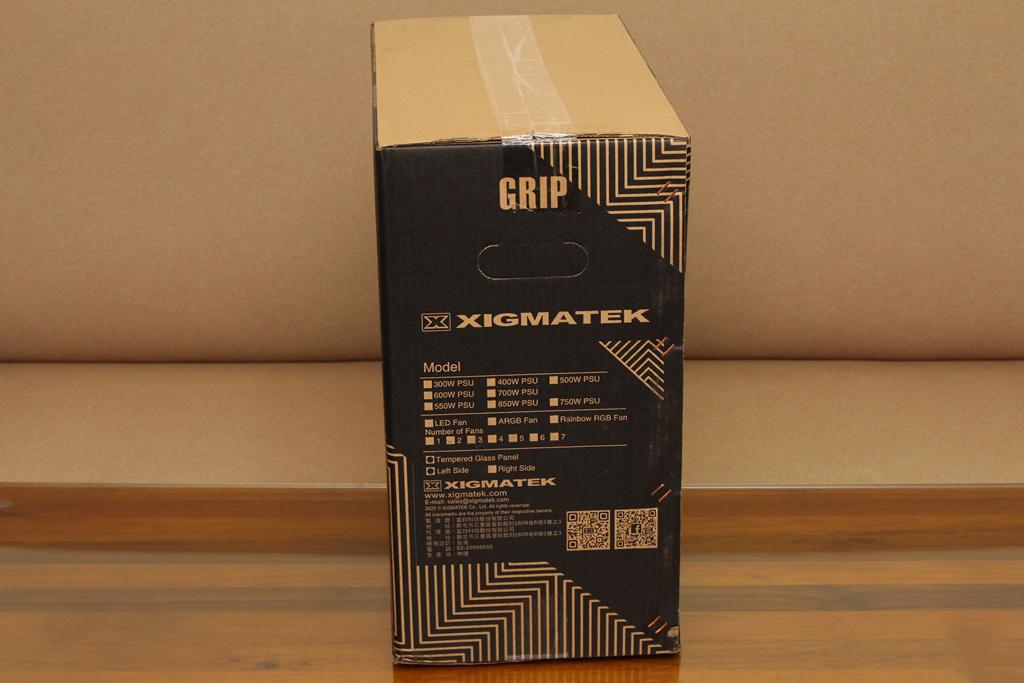 富鈞Xigmatek GRIP古利特機殼-入門鋼化玻璃戰鬥款式,挑戰高CP值寶座 - 7