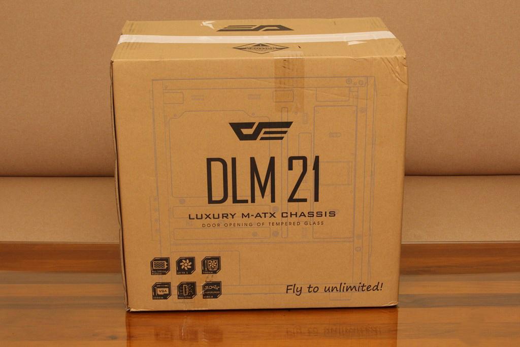darkFlash DLM21 MESH機殼-雪白配色搭全景鋼化玻璃,mATX產品也能擁有不錯的擴充性 - 5