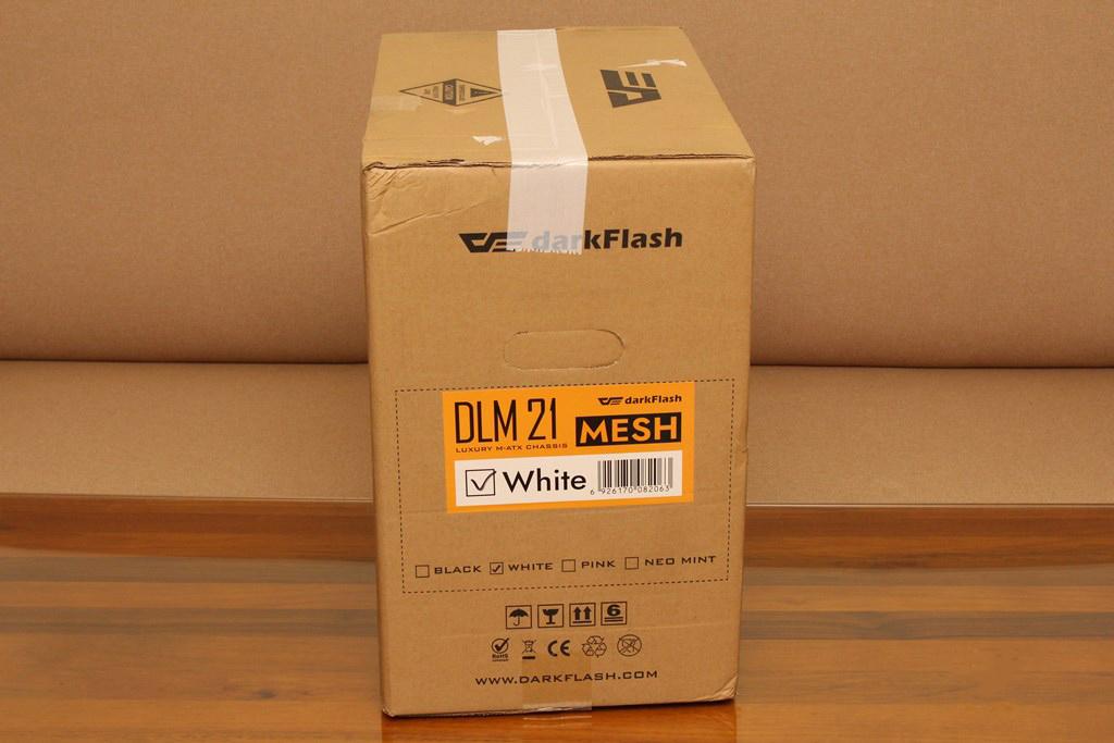 darkFlash DLM21 MESH機殼-雪白配色搭全景鋼化玻璃,mATX產品也能擁有不錯的擴充性 - 6