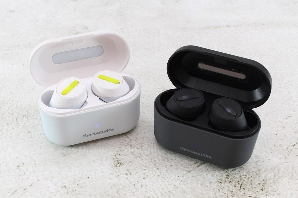 thecoopidea BEANS Pro Active真無線藍牙耳機-潮流外型繽紛色系,運動防水IPX7!