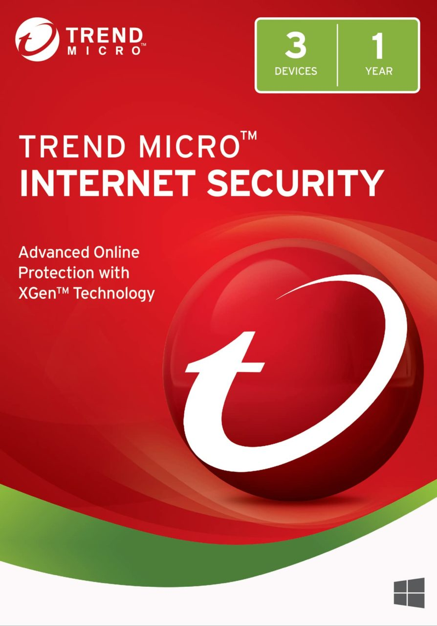 Trend Micro Internet Security for 3 Devices for 1 Year