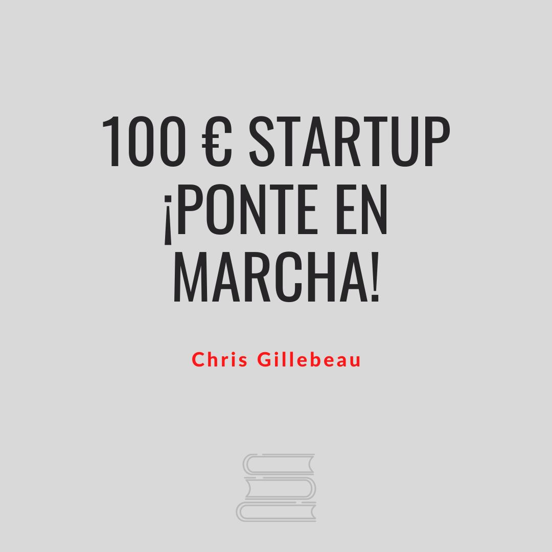 100 € Startup !Ponte en marcha!