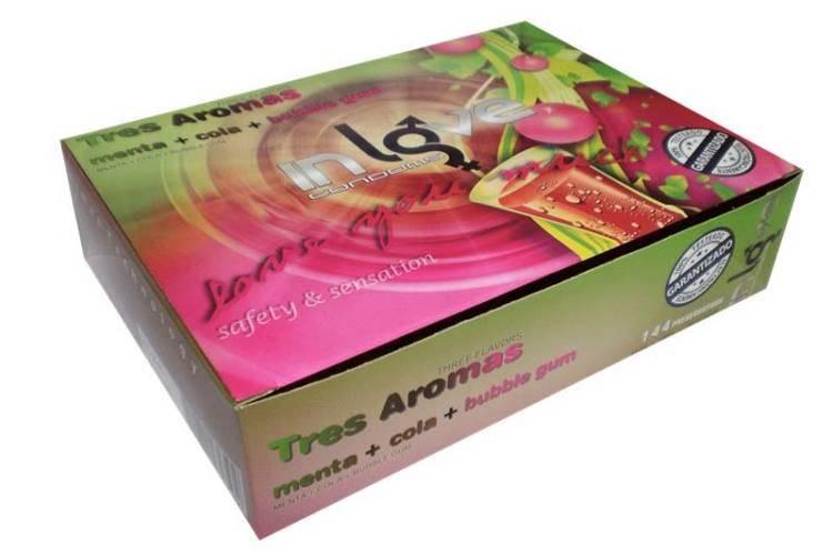 In Love 144, Menta, Cola, Bubble Gum