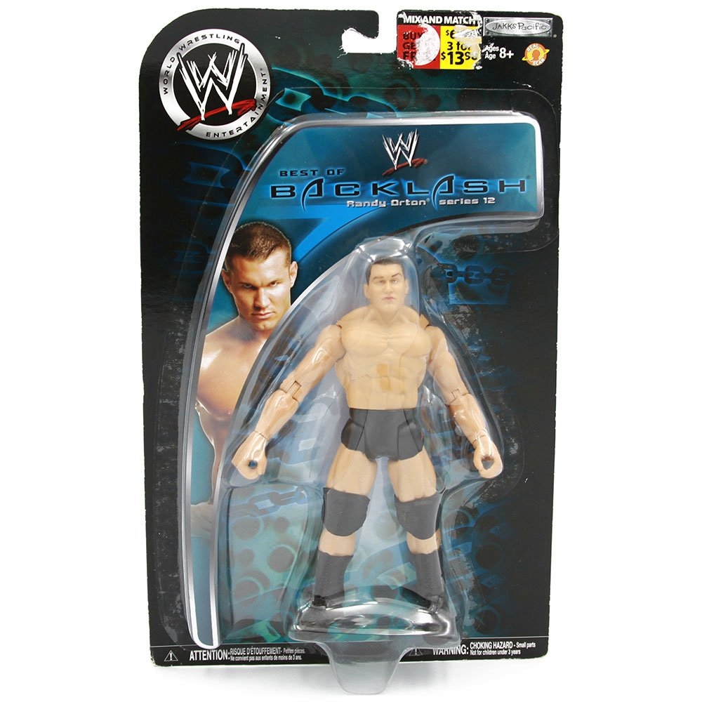 Wwe Best Of Backlash Series 12 Randy Orton Action Figure 3 Count Wrestling Merchandise
