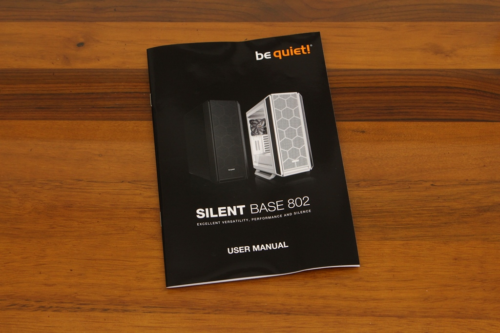 be quiet! SILENT BASE 802鋼化玻璃透側機殼-擴充能力一流,靜...3964