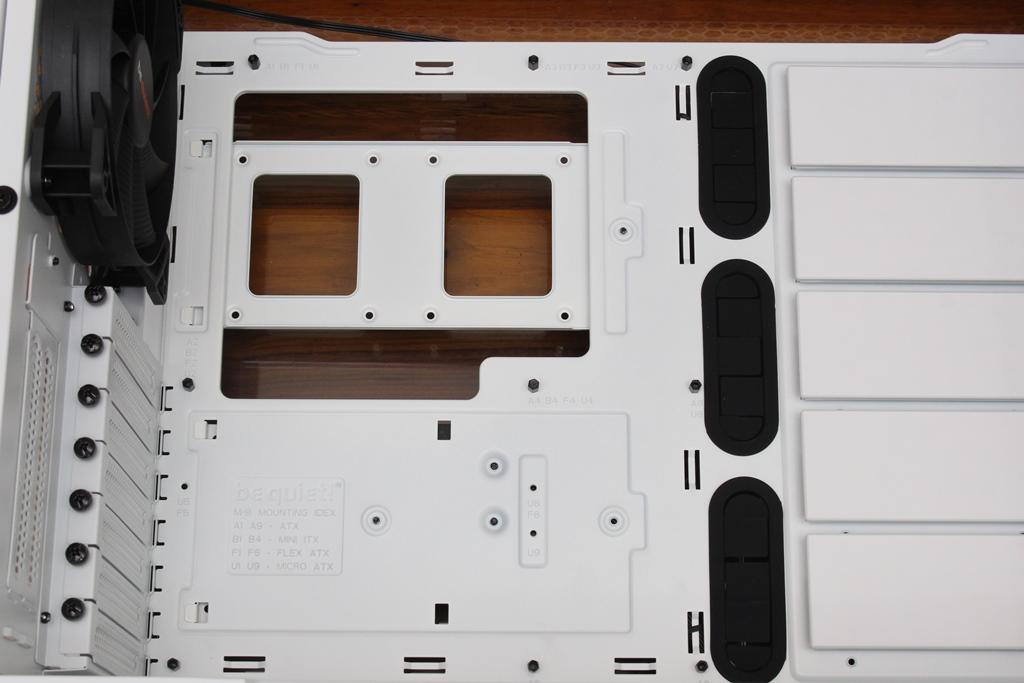 be quiet! SILENT BASE 802鋼化玻璃透側機殼-擴充能力一流,靜...8891