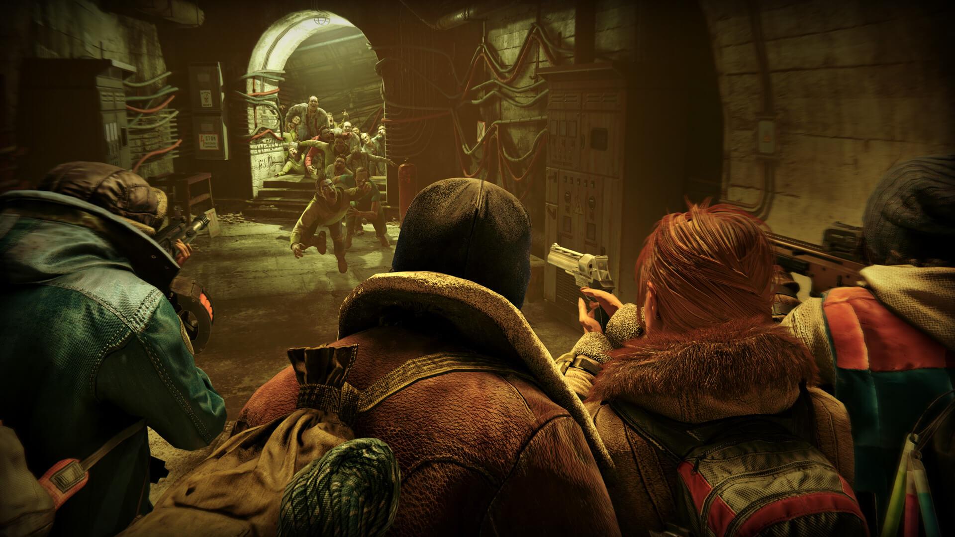 布萊德彼特主演電影《末日之戰》改編同名遊戲:末日之戰 World War Z 免費下載