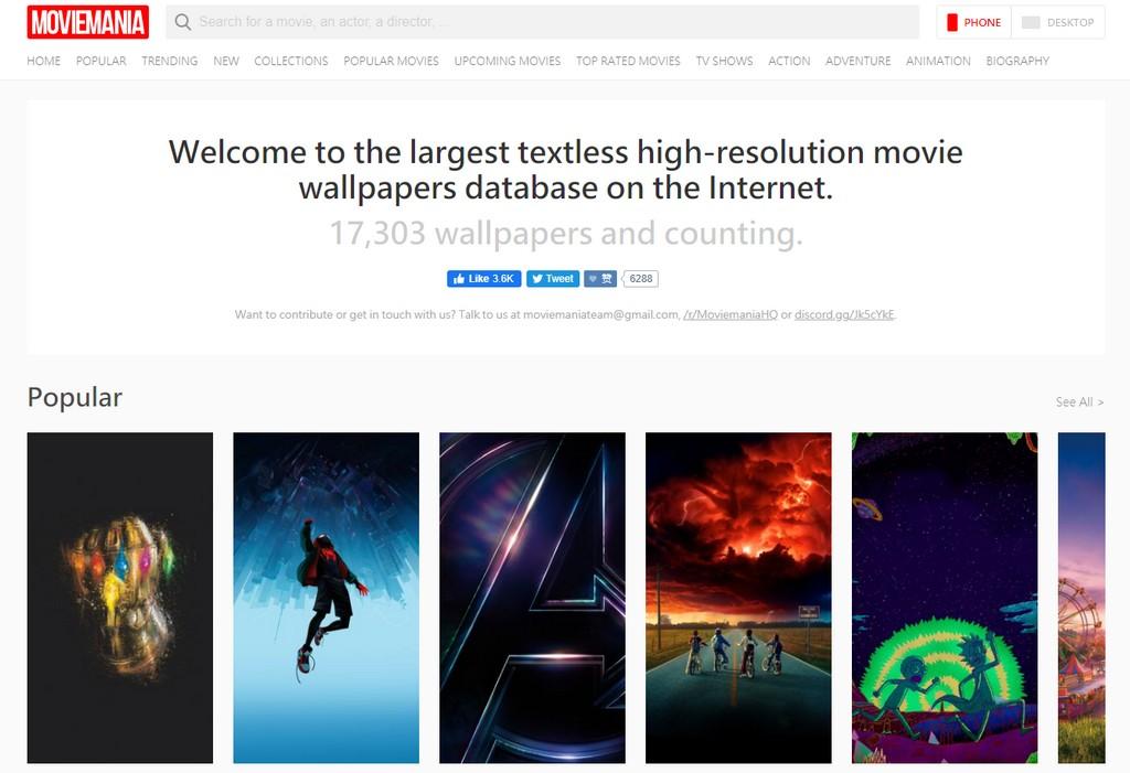 Moviemania 世界上最齊全的電影海報集合