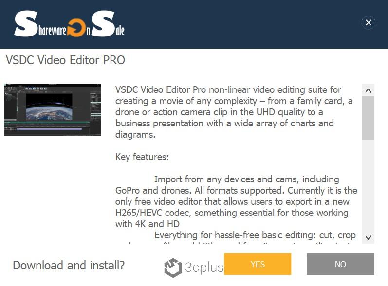 限時免費影片剪輯特效軟體 | VSDC Video Editor PRO 讓你做出精彩的個人影片