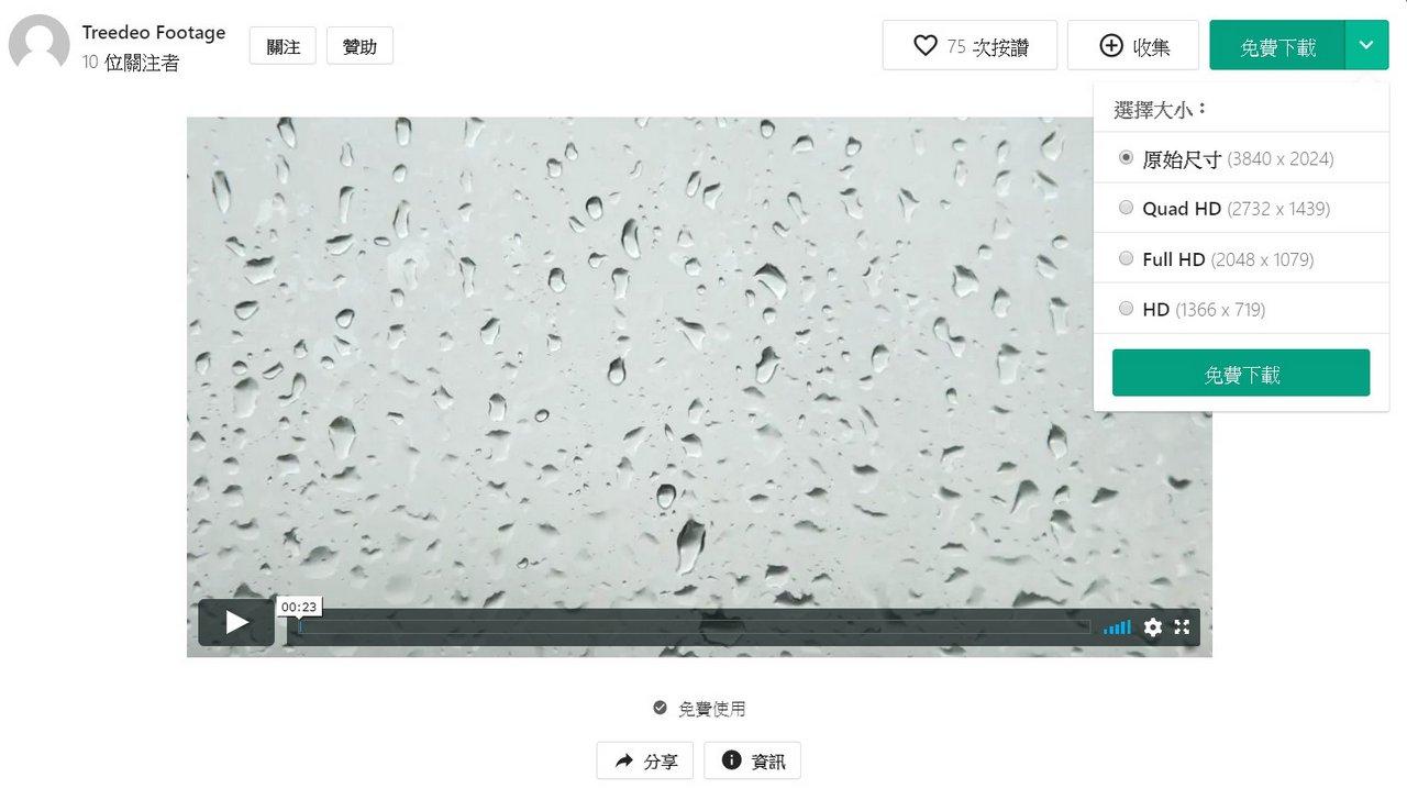 pexels 免費影片圖庫下載