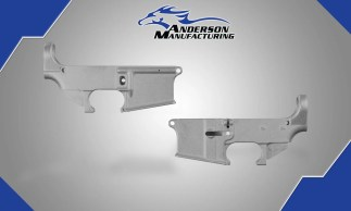 Anderson 80% Lower Receiver Raw Finish