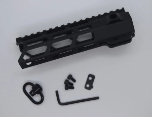 "Alpha 7"" m-lok free float hanguard"