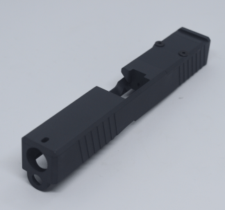 Glock 19 Sniper Grey RMR Slide with Cover Plate