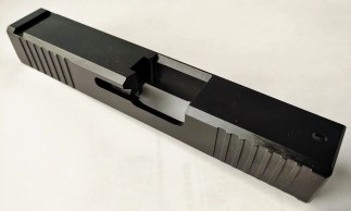 Glock 26 Standard Cut Front and Rear Serrated Slide