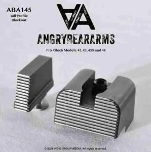 Angry Bear Arms Glock 43 Blank Tall iron Sights