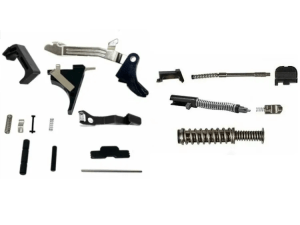 Glock 43 PF9SS SS80 Slide and Frame completion kits