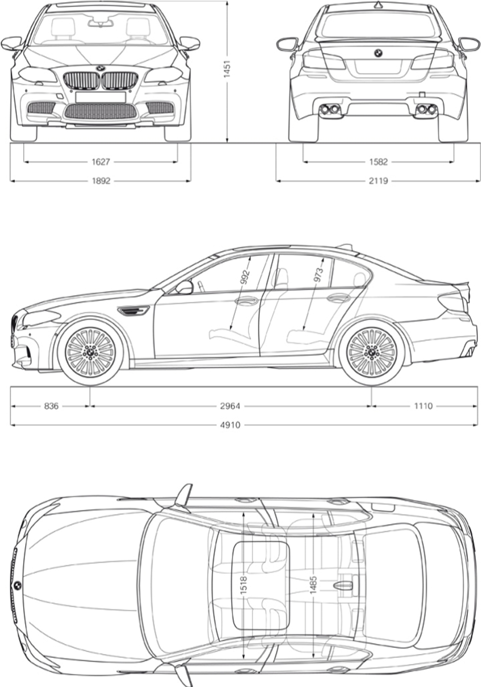 Bmw 1 Series Interior Dimensions