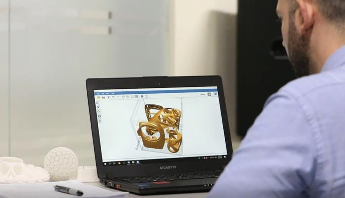 sls 3d drucker xyzprinting software