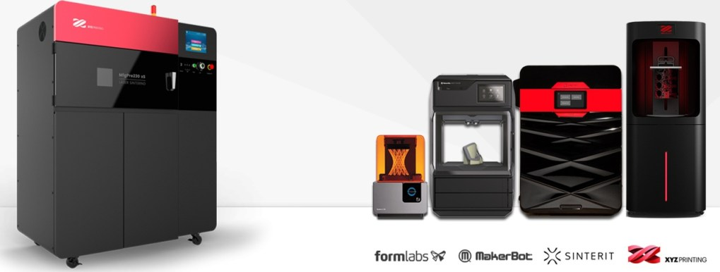 Testdruck Formlabs MakerBot XYZprinting