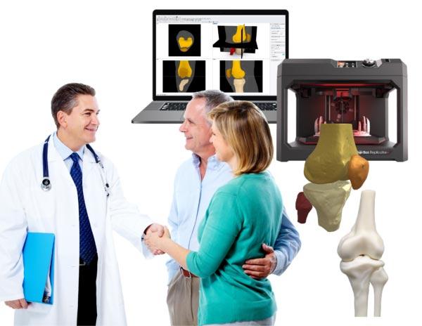 Medizinischer 3D-Druck vom CT Scan zum 3D-Model