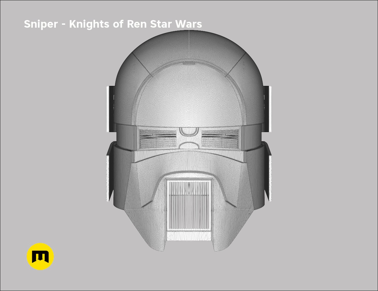 Sniper Helmet Knights Of Ren Star Wars Universe