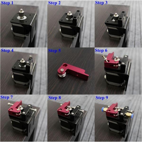 3d Printer bowden extruder