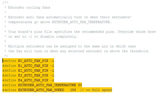 marlin custom fan pins