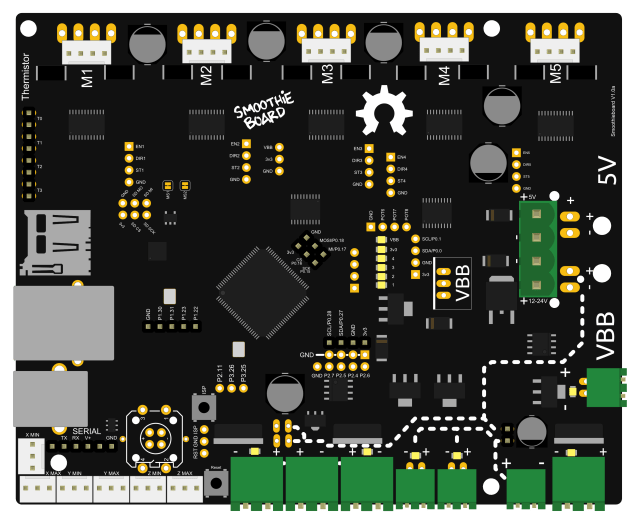 Smoothieboard 32 bit board