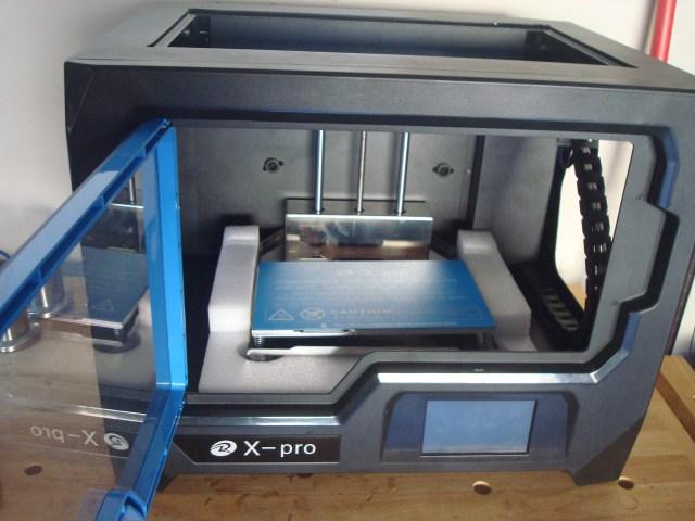 qiditech x-pro printer view