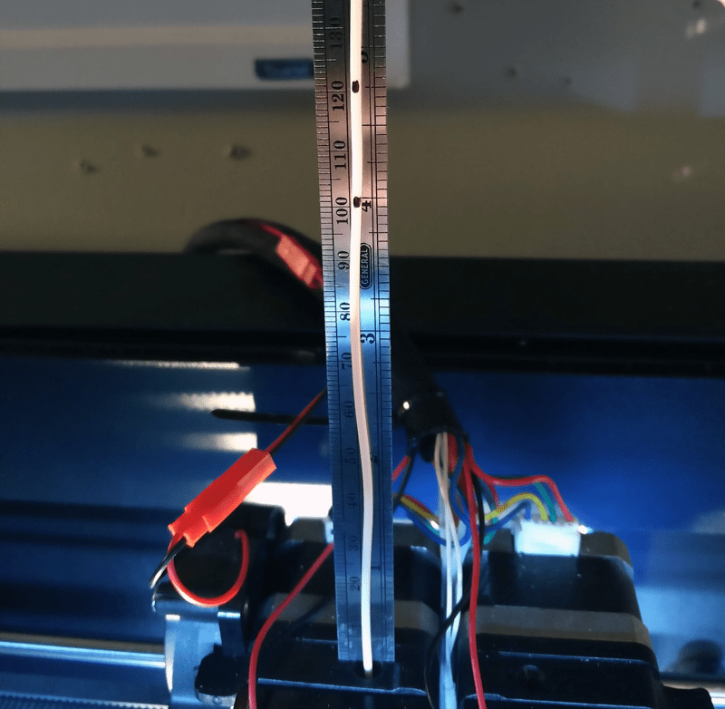 Extruder Calibration lines