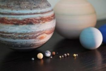 replicas of planets of the Solar System by LITTLE PLANET FACTORY