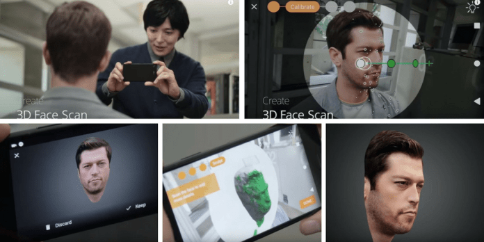 3d Scan From Your Sony Xperia Xz1 And 3d Print At Sculpteo