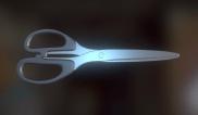 Scissors High-Poly