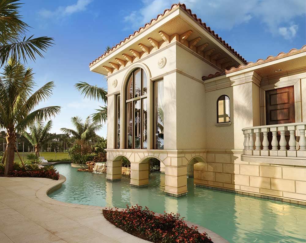 Naples, Florida 3D Rendering Residence