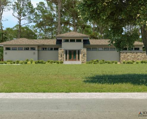 Weisl Residence 3D Architect's Concept Home in Bonita Springs