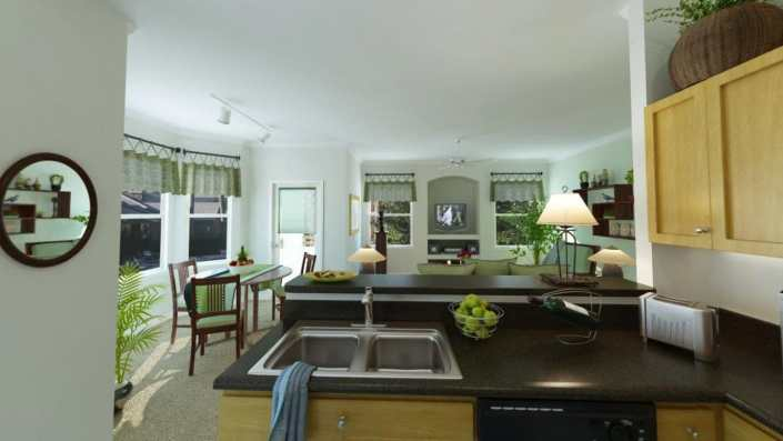 Lodge at Arrowhead 3D Kitchen - Peoria, Arizona