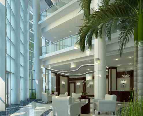 Seagate Properties - Lobby Area 2 in Fort Lauderdale, Florida