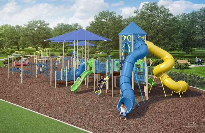 Children's 3D Playground - GameTime