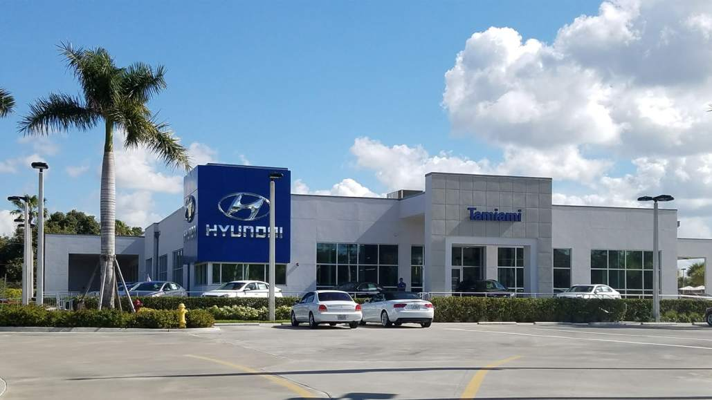Tamiami Hyundai in Naples - Real Front View